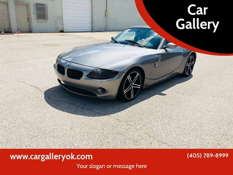 2004 BMW Z4 for sale at Car Gallery in Oklahoma City OK