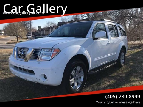 2006 Nissan Pathfinder for sale at Car Gallery in Oklahoma City OK