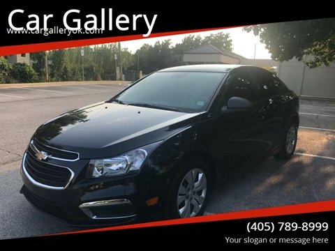 2015 Chevrolet Cruze for sale at Car Gallery in Oklahoma City OK
