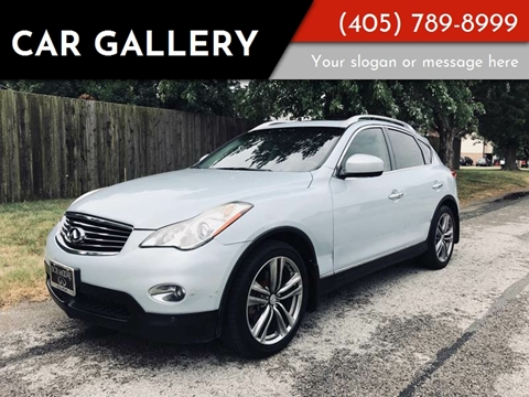 2011 Infiniti EX35 for sale at Car Gallery in Oklahoma City OK