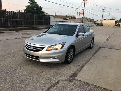 2012 Honda Accord for sale at Car Gallery in Oklahoma City OK