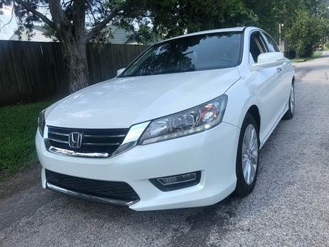 2013 Honda Accord for sale at Car Gallery in Oklahoma City OK