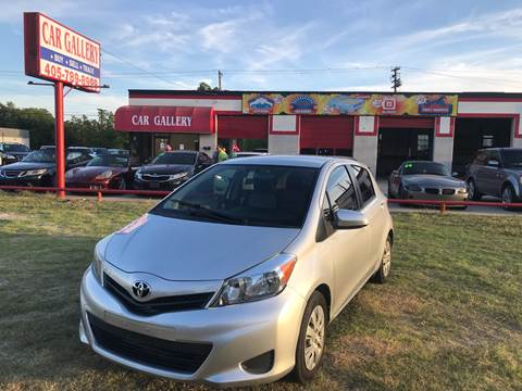 2012 Toyota Yaris for sale at Car Gallery in Oklahoma City OK