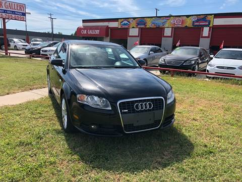 2008 Audi A4 for sale at Car Gallery in Oklahoma City OK