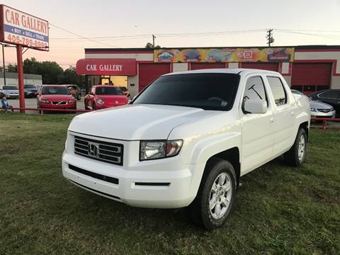 2007 Honda Ridgeline for sale at Car Gallery in Oklahoma City OK
