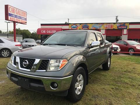 2007 Nissan Frontier for sale at Car Gallery in Oklahoma City OK
