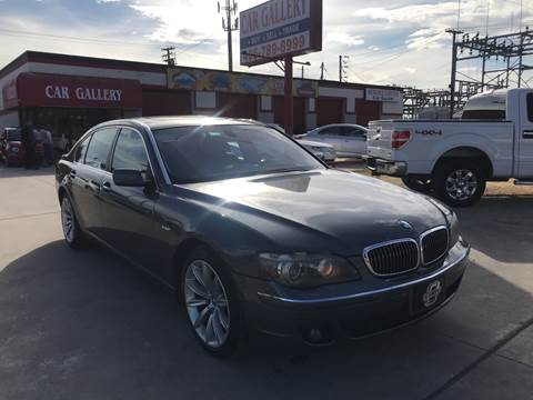 2007 BMW 7 Series for sale at Car Gallery in Oklahoma City OK