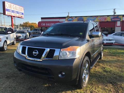 2012 Nissan Armada for sale at Car Gallery in Oklahoma City OK