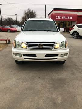 2006 Lexus LX 470 for sale at Car Gallery in Oklahoma City OK