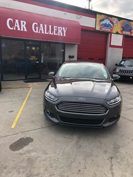 2015 Ford Fusion for sale at Car Gallery in Oklahoma City OK