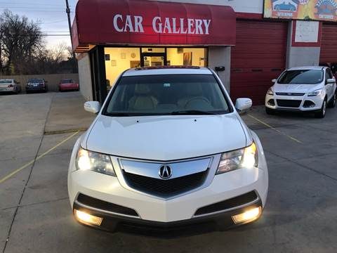 2012 Acura MDX for sale at Car Gallery in Oklahoma City OK