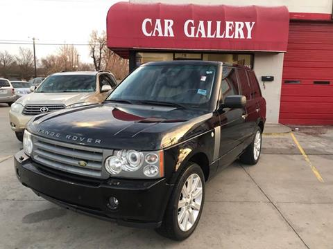 2008 Land Rover Range Rover for sale at Car Gallery in Oklahoma City OK