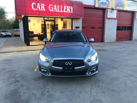 2015 Infiniti Q50 for sale at Car Gallery in Oklahoma City OK