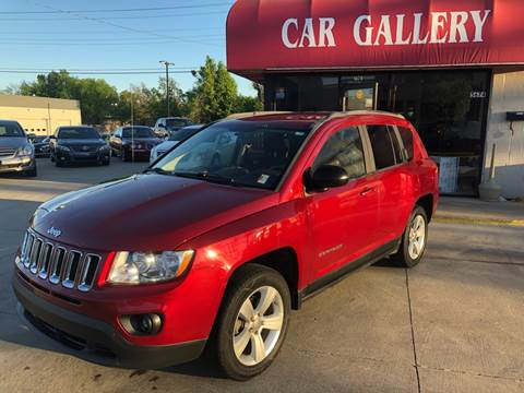 2012 Jeep Compass for sale at Car Gallery in Oklahoma City OK
