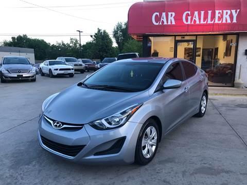 2016 Hyundai Elantra for sale at Car Gallery in Oklahoma City OK