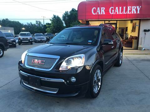 2012 GMC Acadia for sale at Car Gallery in Oklahoma City OK