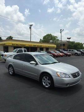 2003 Nissan Altima for sale at Car Gallery in Oklahoma City OK
