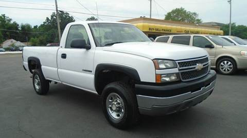 2005 Chevrolet Silverado 2500HD for sale at Car Gallery in Oklahoma City OK