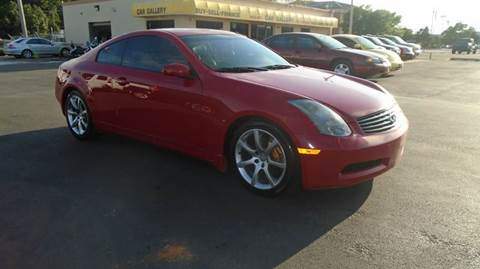 2003 Infiniti G35 for sale at Car Gallery in Oklahoma City OK
