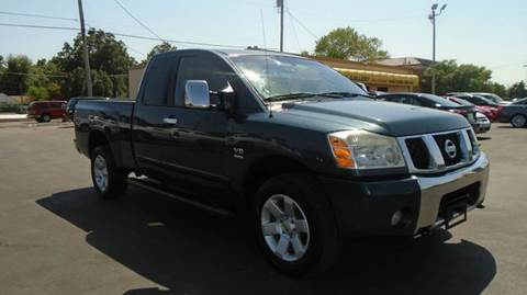 2004 Nissan Titan for sale at Car Gallery in Oklahoma City OK