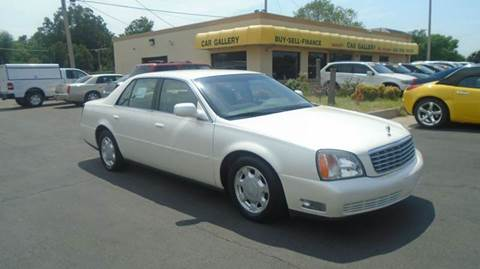 2000 Cadillac DeVille for sale at Car Gallery in Oklahoma City OK