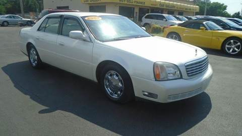 2002 Cadillac DeVille for sale at Car Gallery in Oklahoma City OK