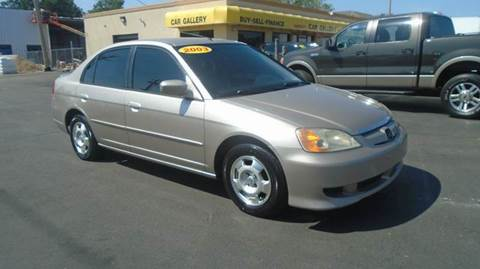 2003 Honda Civic for sale at Car Gallery in Oklahoma City OK