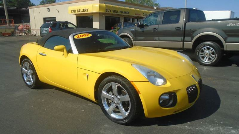 2007 Pontiac Solstice for sale at Car Gallery in Oklahoma City OK