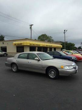 2001 Lincoln Town Car for sale at Car Gallery in Oklahoma City OK