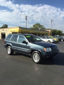 2002 Jeep Grand Cherokee for sale at Car Gallery in Oklahoma City OK