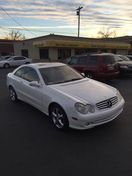 2005 Mercedes-Benz CLK for sale at Car Gallery in Oklahoma City OK