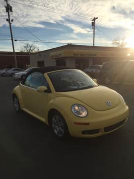 2007 Volkswagen New Beetle for sale at Car Gallery in Oklahoma City OK