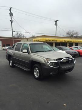 2003 Chevrolet Avalanche for sale at Car Gallery in Oklahoma City OK