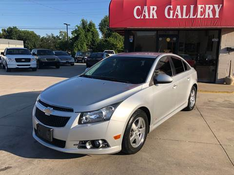 2012 Chevrolet Cruze for sale at Car Gallery in Oklahoma City OK
