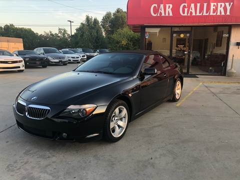 2005 BMW 6 Series for sale at Car Gallery in Oklahoma City OK