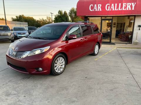 2015 Toyota Sienna for sale at Car Gallery in Oklahoma City OK