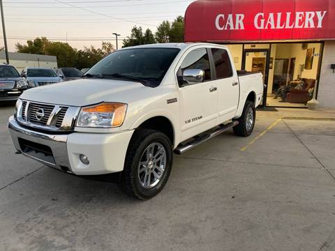 2015 Nissan Titan for sale at Car Gallery in Oklahoma City OK