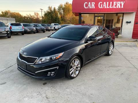 2015 Kia Optima for sale at Car Gallery in Oklahoma City OK
