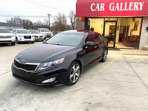 2011 Kia Optima for sale at Car Gallery in Oklahoma City OK