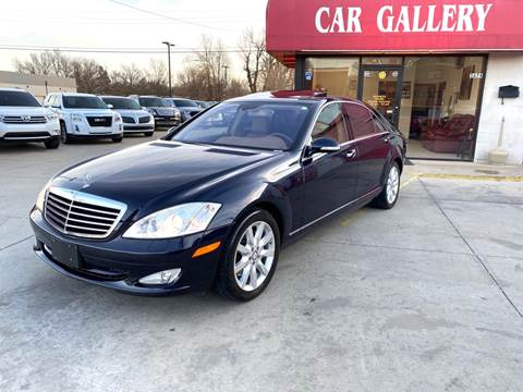 2008 Mercedes-Benz S-Class for sale at Car Gallery in Oklahoma City OK
