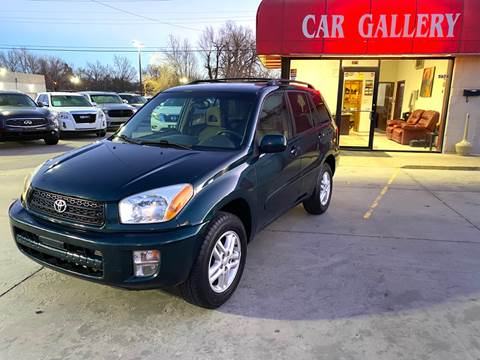 2002 Toyota RAV4 for sale at Car Gallery in Oklahoma City OK