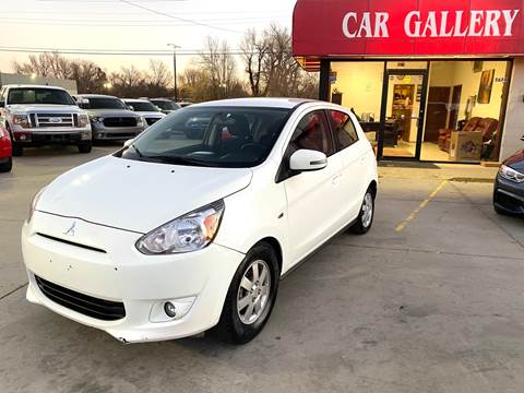 2015 Mitsubishi Mirage for sale at Car Gallery in Oklahoma City OK