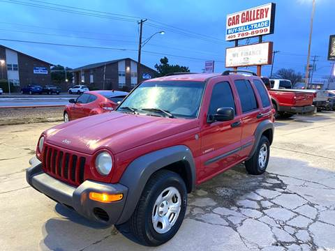 2004 Jeep Liberty for sale at Car Gallery in Oklahoma City OK