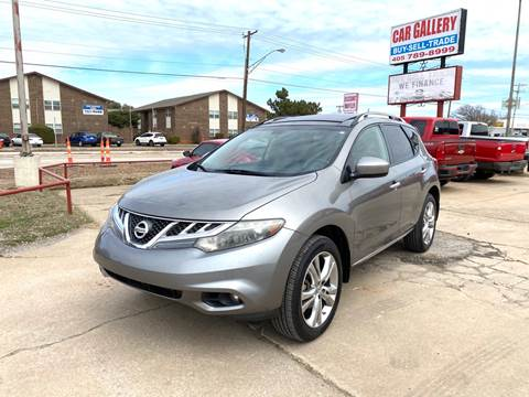 2011 Nissan Murano for sale at Car Gallery in Oklahoma City OK