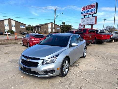 2016 Chevrolet Cruze Limited for sale at Car Gallery in Oklahoma City OK