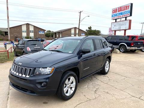 2016 Jeep Compass for sale at Car Gallery in Oklahoma City OK