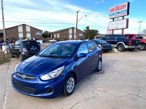 2017 Hyundai Accent for sale at Car Gallery in Oklahoma City OK