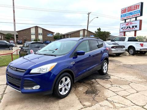 2015 Ford Escape for sale at Car Gallery in Oklahoma City OK