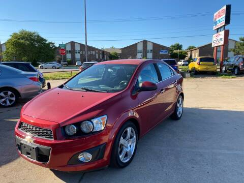 2012 Chevrolet Sonic for sale at Car Gallery in Oklahoma City OK