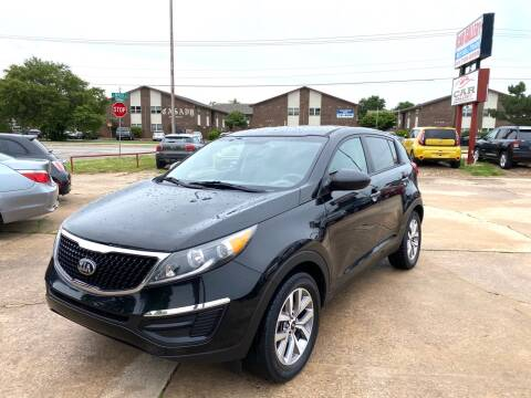 2016 Kia Sportage for sale at Car Gallery in Oklahoma City OK